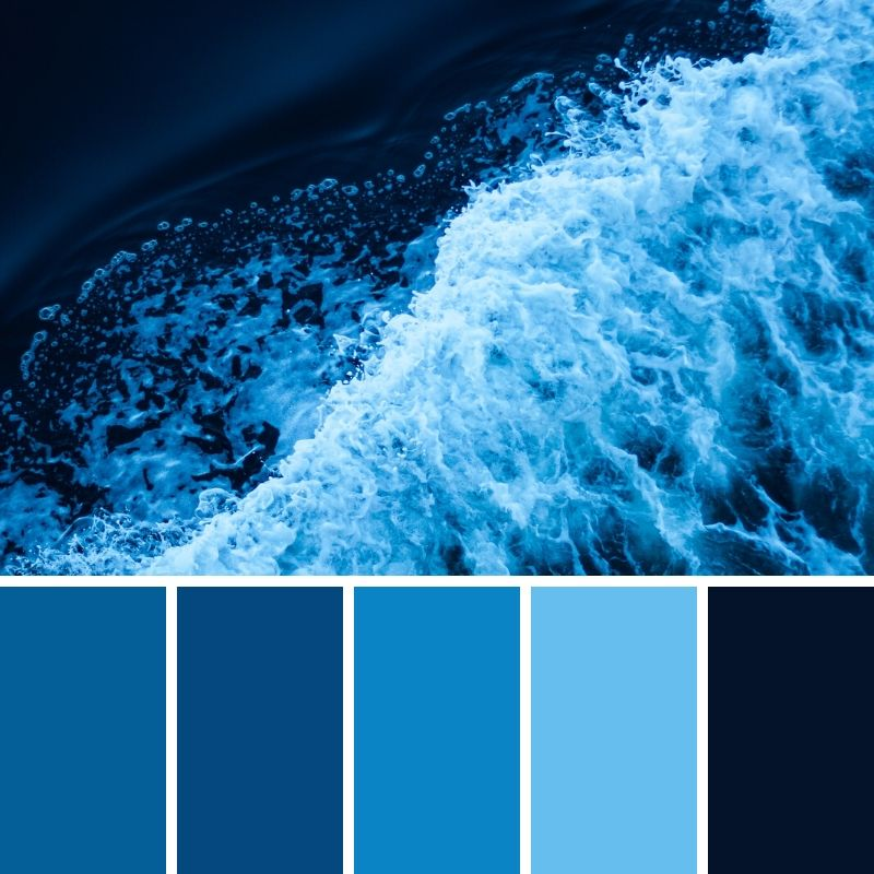 , Fresh Color Palette Choices for your Website